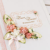 Свадебный салон handmade. Livemaster - original item Folder for the marriage certificate