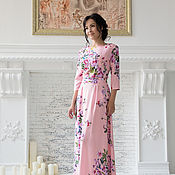 """Одежда ручной работы. Ярмарка Мастеров - ручная работа Платье """"Нежно-Розовое"""". Handmade."""