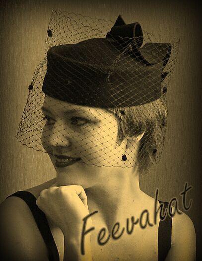 """Шляпы ручной работы. Ярмарка Мастеров - ручная работа. Купить Шляпка таблетка """"Вернисаж"""". Handmade. Маленькая шляпка, ретро"""