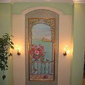 Картины и панно ручной работы. Ярмарка Мастеров - ручная работа Мои картины в интерьере(батик панно). Handmade.
