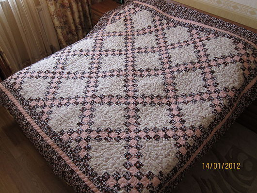 Текстиль, ковры ручной работы. Ярмарка Мастеров - ручная работа. Купить Одеяло-покрывало. Handmade. Лоскутное одеяло, лоскутное шитье