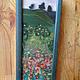 шерстяная 3D-акварель по мотивам картины Г. Климта