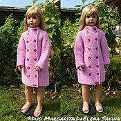 Работы для детей, ручной работы. Ярмарка Мастеров - ручная работа Розовый Карди ( на фото рост 110/116 ). Handmade.