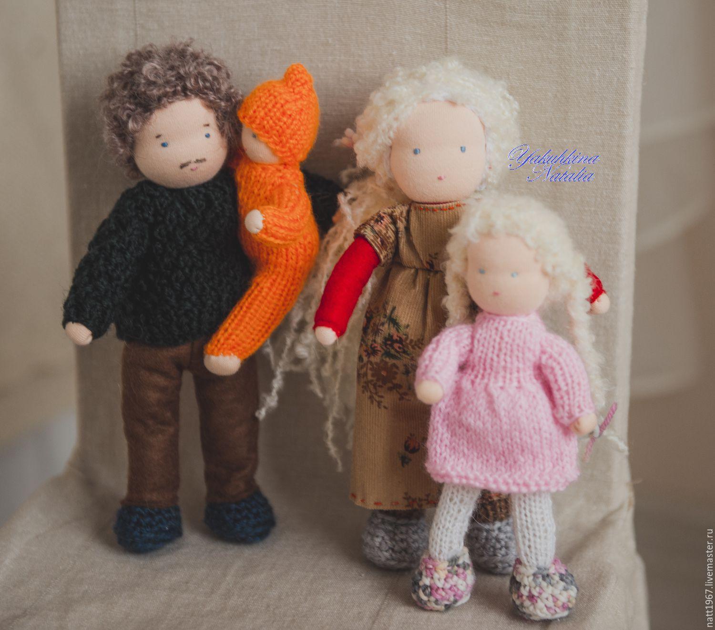 Family - Waldorf dolls, Waldorf Dolls & Animals, Samara,  Фото №1