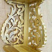 Для дома и интерьера ручной работы. Ярмарка Мастеров - ручная работа Полка угловая Кат 001. Handmade.