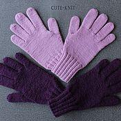 Аксессуары handmade. Livemaster - original item Gloves: women`s knitted gloves. Handmade.