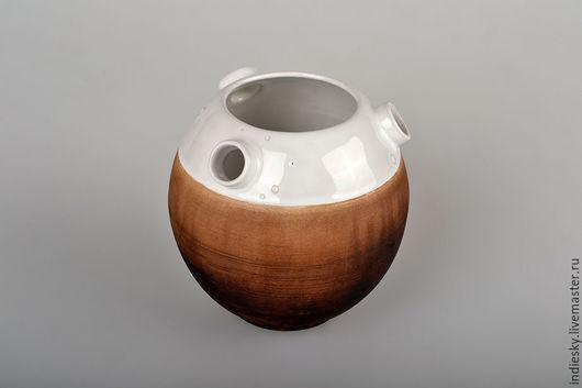 """Вазы ручной работы. Ярмарка Мастеров - ручная работа. Купить ваза """"cosmopot"""". Handmade. Чёрно-белый, био, потертости, эко"""