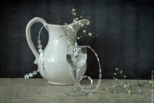 Фотокартины ручной работы. Ярмарка Мастеров - ручная работа. Купить Натюрморт Первое свидание. Handmade. Темно-серый, белый, цветы