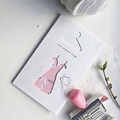 Открытки ручной работы. Ярмарка Мастеров - ручная работа Открытка «Весна начинается сегодня». Handmade.