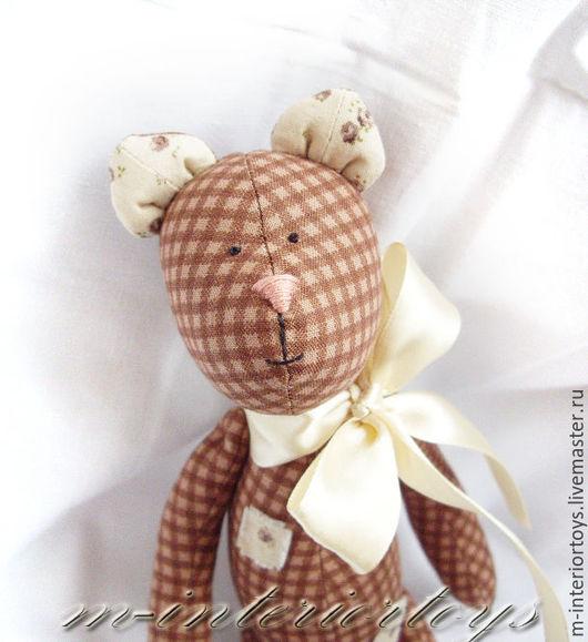 Куклы Тильды ручной работы. Ярмарка Мастеров - ручная работа. Купить Медвежата Тильда. Handmade. Коричневый, медвежонок игрушка