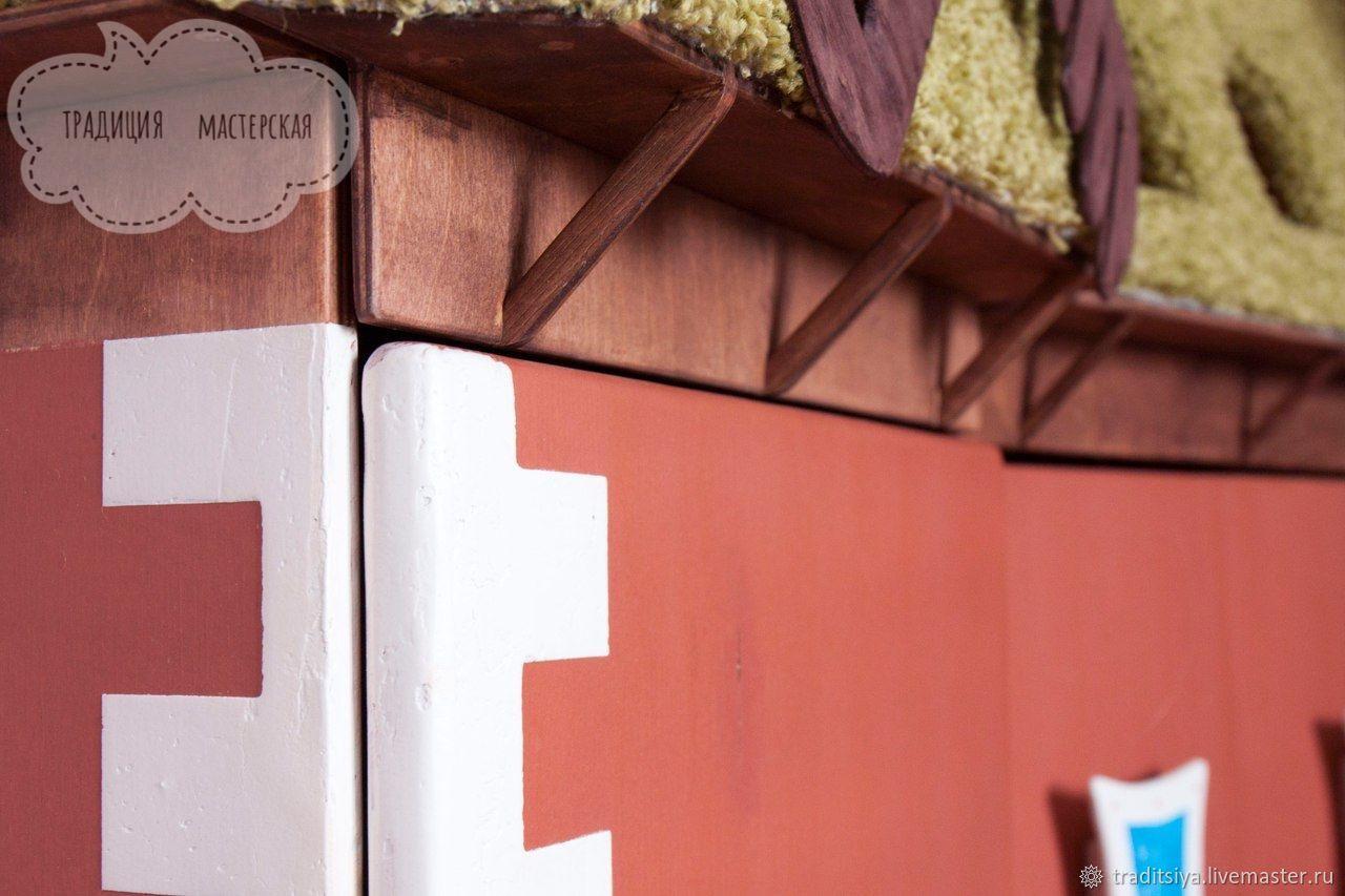 Детский шкаф - домик, Мебель, Новосибирск, Фото №1
