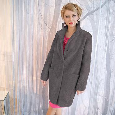 Одежда ручной работы. Ярмарка Мастеров - ручная работа Пальто из натурального меха по цене куртки из текстиля. Handmade.