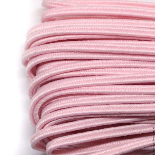 Для украшений ручной работы. Ярмарка Мастеров - ручная работа. Купить Сутаж белорусский 2,5мм светло-розовый. Handmade.