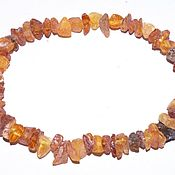 Украшения handmade. Livemaster - original item Medical bracelet made of raw amber.. Handmade.