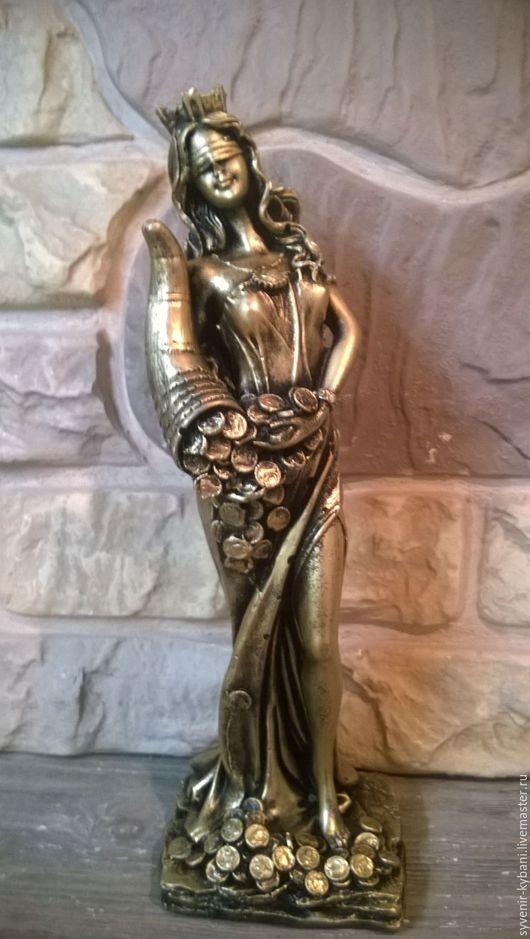 Статуэтки ручной работы. Ярмарка Мастеров - ручная работа. Купить статуэтка рог изобилия. Handmade. Золотой, ручная работа, гипсополимер