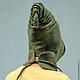 """Шапки ручной работы. Шапочка """"Эльфийский шлем"""". Belisama Felt. Интернет-магазин Ярмарка Мастеров. Шапочка валяная, необычная шапка"""
