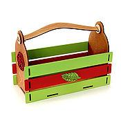 Упаковка ручной работы. Ярмарка Мастеров - ручная работа Корзинка для цветов и подарков. Handmade.