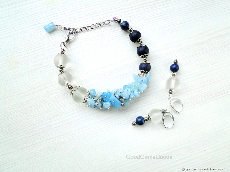 Set the 'Cote d'azur', Bead bracelet, Almaty,  Фото №1