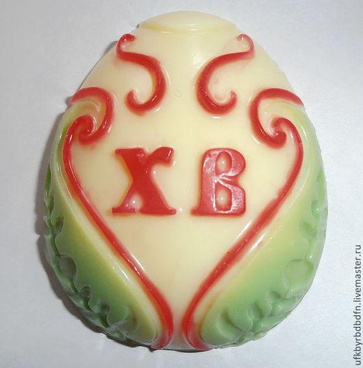 """Мыло ручной работы. Ярмарка Мастеров - ручная работа. Купить мыло """"пасхальное яйцо"""". Handmade. Розовый, зеленый, сувениры и подарки"""