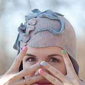 Аксессуары ручной работы. Ярмарка Мастеров - ручная работа Фантазийная шляпка 16005. Handmade.