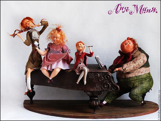 Коллекционные куклы ручной работы. Ярмарка Мастеров - ручная работа. Купить Папина гордость. Handmade. Праздник, авторская работа