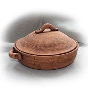 Для дома и интерьера ручной работы. Ярмарка Мастеров - ручная работа Сотейник керамический. Handmade.