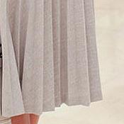 Одежда handmade. Livemaster - original item Fashionable skirt custom made pleated slim suiting. Handmade.