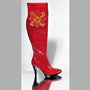 """Обувь ручной работы. Ярмарка Мастеров - ручная работа Сапоги  """"Империя"""". Handmade."""