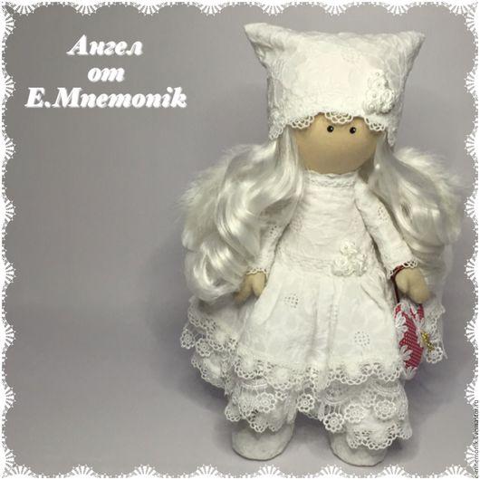 Коллекционные куклы ручной работы. Ярмарка Мастеров - ручная работа. Купить Ангел. Handmade. Белый, кукла ручной работы, подарок