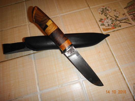 Оружие ручной работы. Ярмарка Мастеров - ручная работа. Купить ножи ручной работы. Handmade. Сталь, кожа натуральная
