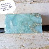 Материалы для творчества handmade. Livemaster - original item Larimar( pectolite) Dominican Republic. Handmade.