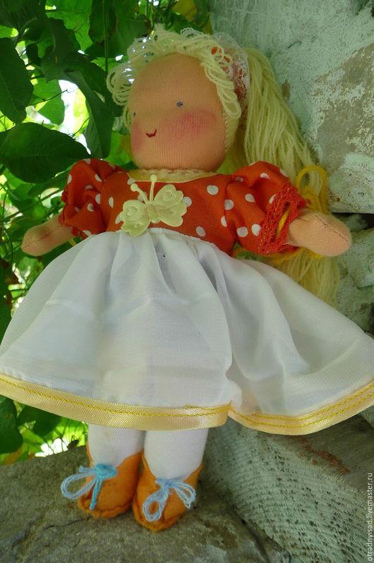 Вальдорфская игрушка ручной работы. Ярмарка Мастеров - ручная работа. Купить Шитая кукла Зоя. Handmade. Вальдорфская кукла