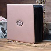 Фотоальбомы ручной работы. Ярмарка Мастеров - ручная работа Семейный альбом для фотографий. Handmade.