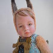 Куклы и игрушки ручной работы. Ярмарка Мастеров - ручная работа Авторская кукла тедди-долл. Handmade.