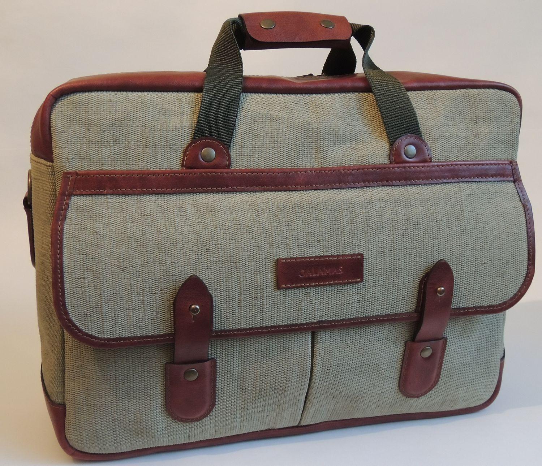 Мужская сумка из брезента своими руками 4