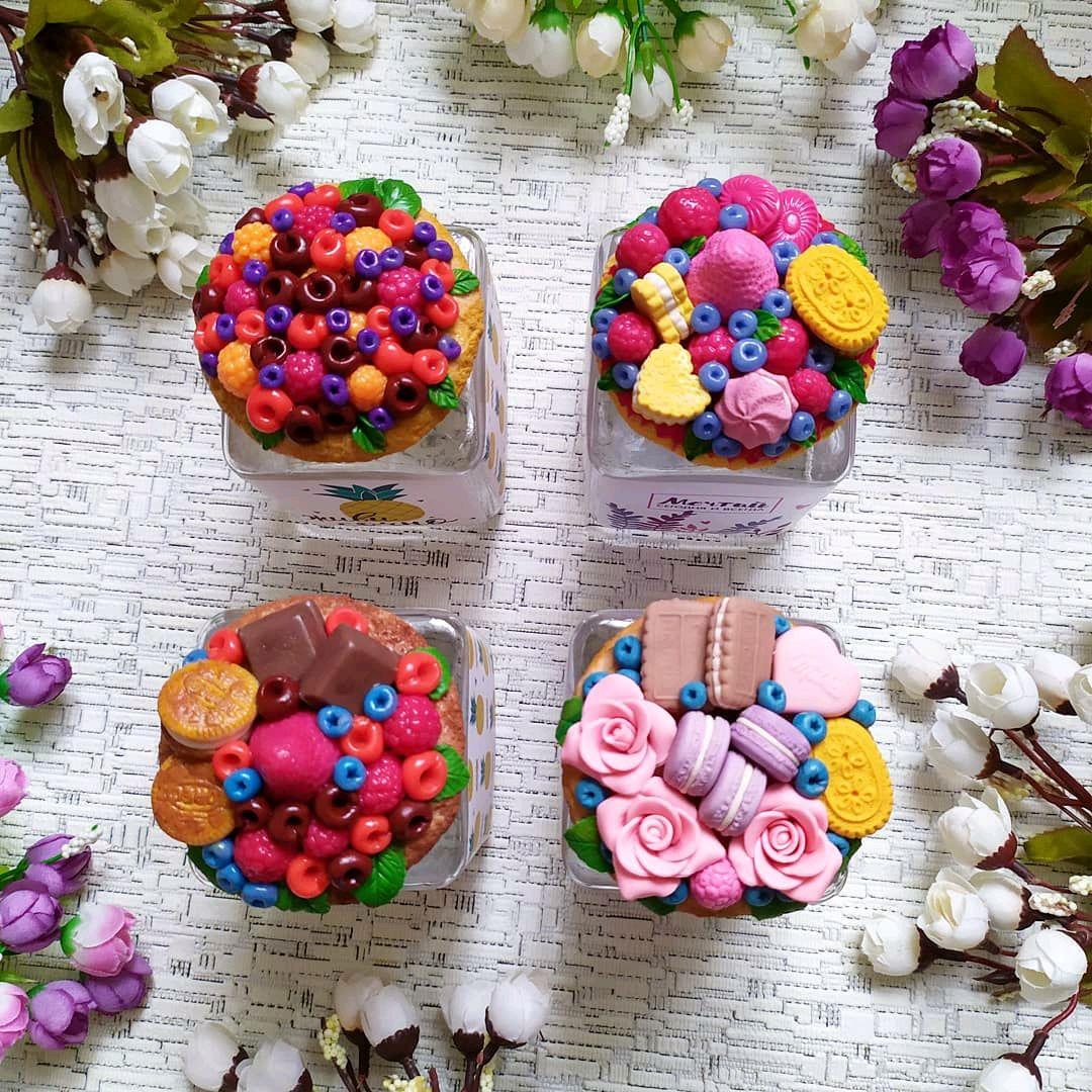 Баночка с декором из полимерной глины, Кружки и чашки, Ногинск,  Фото №1