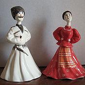 Сувениры и подарки handmade. Livemaster - original item Dolls-bells Kuban Cossacks. Handmade.