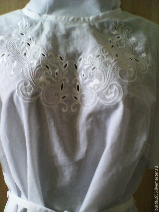 Блузки ручной работы. Ярмарка Мастеров - ручная работа. Купить Блузка из батиста(персональный заказ). Handmade. Белый, блузка вышитая