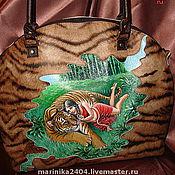 """Сумки и аксессуары ручной работы. Ярмарка Мастеров - ручная работа сумка """"Тигрица"""". Handmade."""