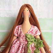 Куклы и игрушки ручной работы. Ярмарка Мастеров - ручная работа Mademoiselle. Будуарная кукла, шебби-шик, бохо. Handmade.