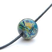 Украшения handmade. Livemaster - original item Pendant made of glass