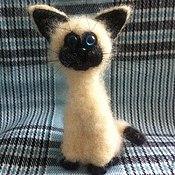 Куклы и игрушки ручной работы. Ярмарка Мастеров - ручная работа Котик mini iCat. Handmade.