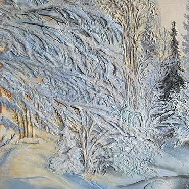 """Картины и панно ручной работы. Ярмарка Мастеров - ручная работа Картина """"На рассвете"""". Handmade."""