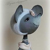 Куклы и игрушки ручной работы. Ярмарка Мастеров - ручная работа Мышка Дарси. Handmade.