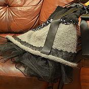 """Одежда ручной работы. Ярмарка Мастеров - ручная работа """"Urban Chic"""" эксклюзивная юбка ручная работа. Handmade."""