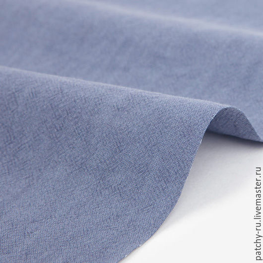 Шитье ручной работы. Ярмарка Мастеров - ручная работа. Купить Корейский хлопок Dailylike 324 Pigment washing  violet blue. Handmade.