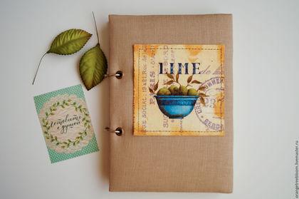 `Лайм` кулинарный блокнот на кольцах. 192 страницы. Формат А5. Вместительный и надёжный.=) Цветные страницы. 4 раздела.