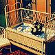 Плетеная детская кроватка (Юрий Фомин) 14700 руб