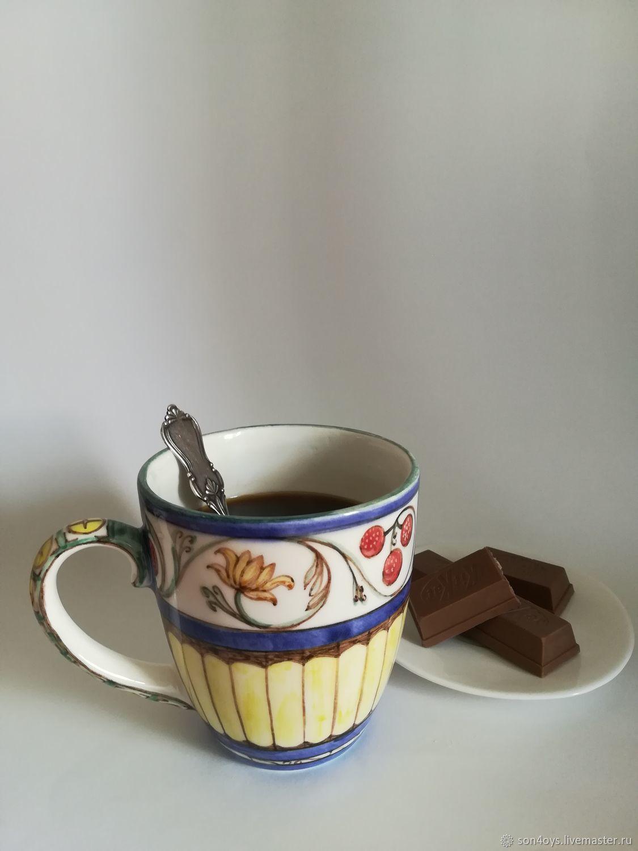 Кружка для кофе `Готика` 350мл
