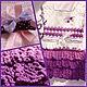 Одежда для девочек, ручной работы. Заказать Вязанное платье для девочки. BARIBINA. Ярмарка Мастеров. Вязание крючком